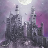 Arthouse Magical Kingdom Purple Wallpaper