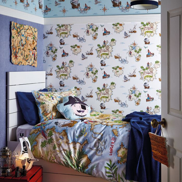 Arthouse Pirates Ahoy Multi Wallpaper - Product code: 696107