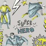 Arthouse Superhero Lime Wallpaper