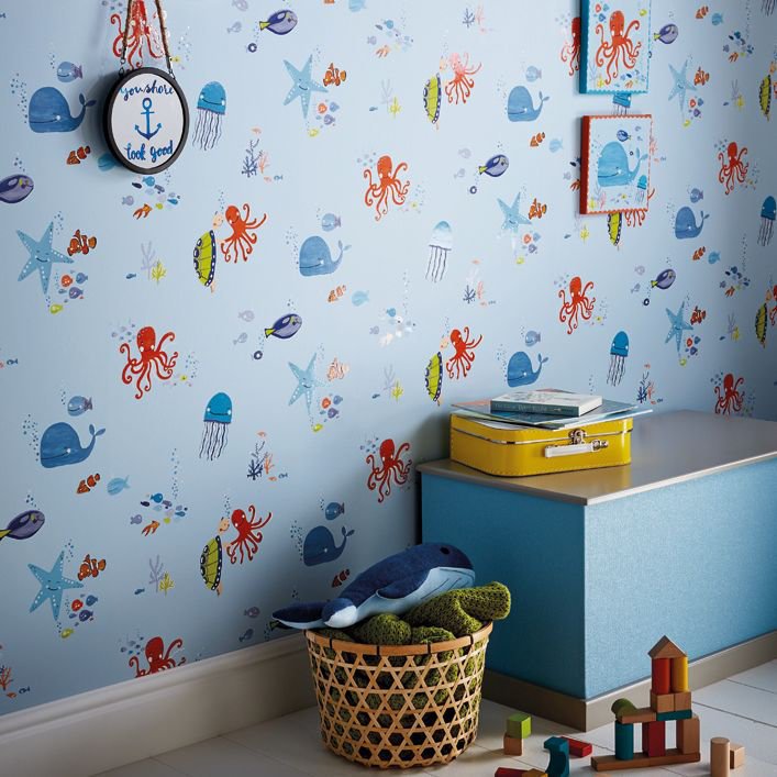 Arthouse Underwater Fun Blue Wallpaper - Product code: 696202