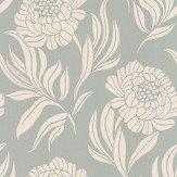1838 Wallcoverings Chatsworth Eau de Nil Wallpaper