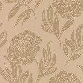 1838 Wallcoverings Chatsworth Gold Wallpaper