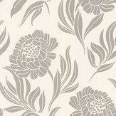 1838 Wallcoverings Chatsworth Gilver Wallpaper
