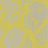 1838 Wallcoverings Chatsworth Lime Wallpaper