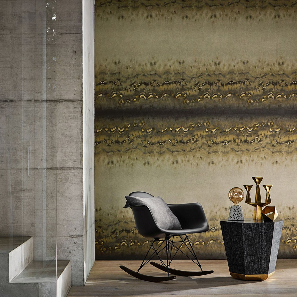 Diffusion Wallpaper - Pyrite - by Anthology