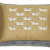 Harlequin Demoiselle Embroidered Cushion