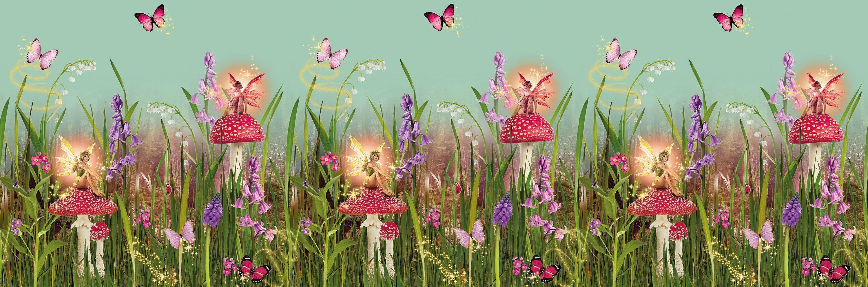 Magic Garden Frieze By Arthouse Multi Wallpaper Direct