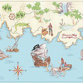 Arthouse Pirate Ahoy Frieze Multi Border - Product code: 696303