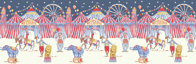 Arthouse Circus Frieze Multi Border - Product code: 696304