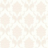 The Paper Partnership Grace Nutmeg / Cream Wallpaper - Product code: LL 00323