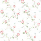 The Paper Partnership Rose Buttermilk / Pink Wallpaper - Product code: LL 00336