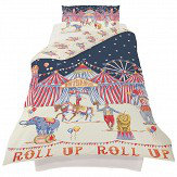 Arthouse Circus Fun Duvet Set Multi Duvet Cover