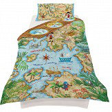 Arthouse Pirates Ahoy Duvet Set Multi Duvet Cover