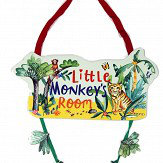 Arthouse Little Monkey Room Plaque Multi Art