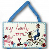 Arthouse My Lovely Room Plaque Multi Art