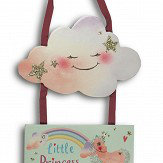 Arthouse Little Princess Wooden Room Plaque Multi Art