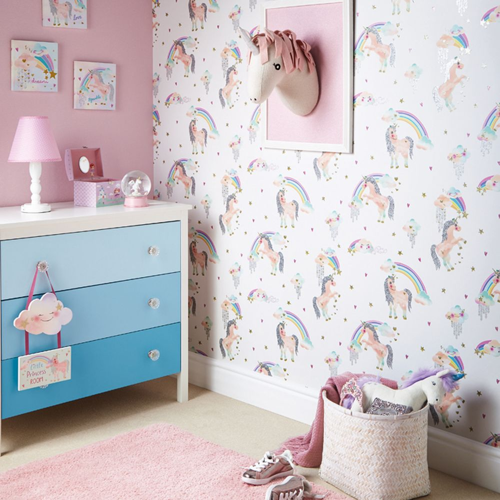 Arthouse Little Princess Wooden Room Plaque Multi Art - Product code: 004662