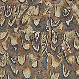 Zoffany Icarus Copper / Pheasant Wallpaper