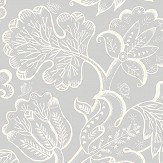 Blendworth Jacobean Ice Queen Wallpaper