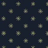 Blendworth Classical Star Midnight Wallpaper - Product code: CBW178