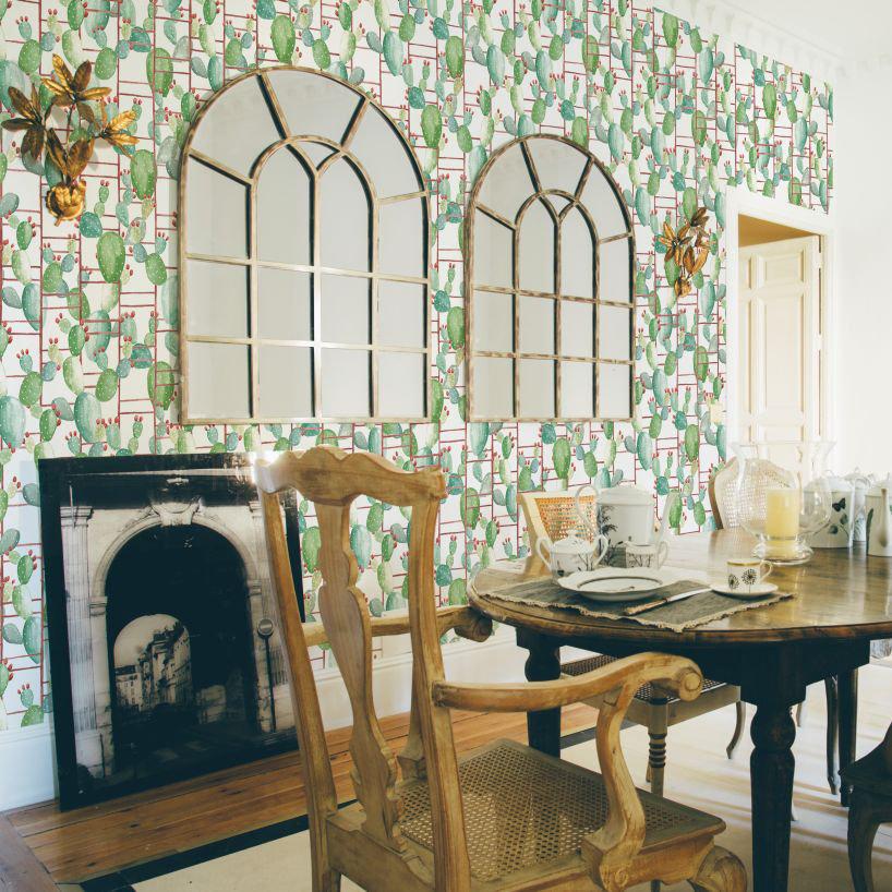 Coordonne Chumbera White Wallpaper - Product code: 5900023