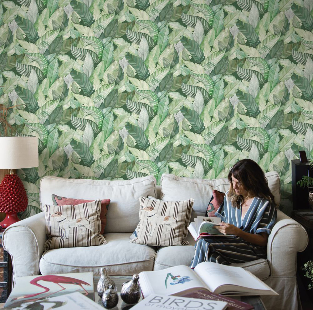 Coordonne Banano Green Wallpaper - Product code: 5900022
