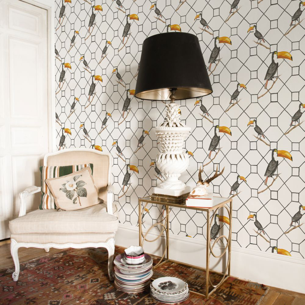 Coordonne Max White Wallpaper - Product code: 5900029