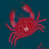 Coordonne Crustaceos Navy Wallpaper - Product code: 5900042