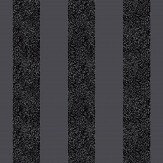 Arthouse Glitterati Stripe Black Wallpaper