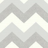 Arthouse Glitterati Chevron Platinum Wallpaper - Product code: 892302