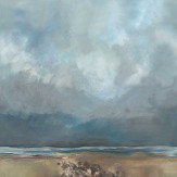 Zoffany Holkham Bay Pebbles Daybreak - panels A + B + C Mural
