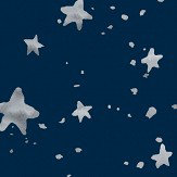 Coordonne Via Lactea Navy Wallpaper
