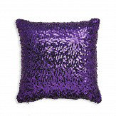 Arthouse Sparkle Cushion Purple