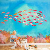 Coordonne Fish Shape Multi Mural