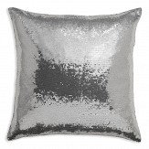 Arthouse Glitz Cushion Platinum
