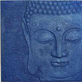Arthouse Buddha Navy Blue Art