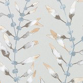 Harlequin Chaconia Amber / Slate Wallpaper