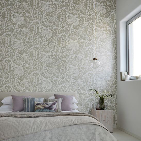 Coralline Wallpaper - Stone - by Harlequin