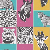 Albany Safari Multi-coloured Wallpaper - Product code: 41917