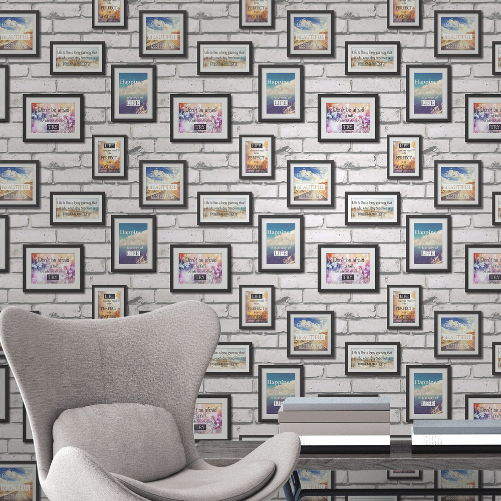 Albany Frames Multi-coloured Wallpaper - Product code: 41920