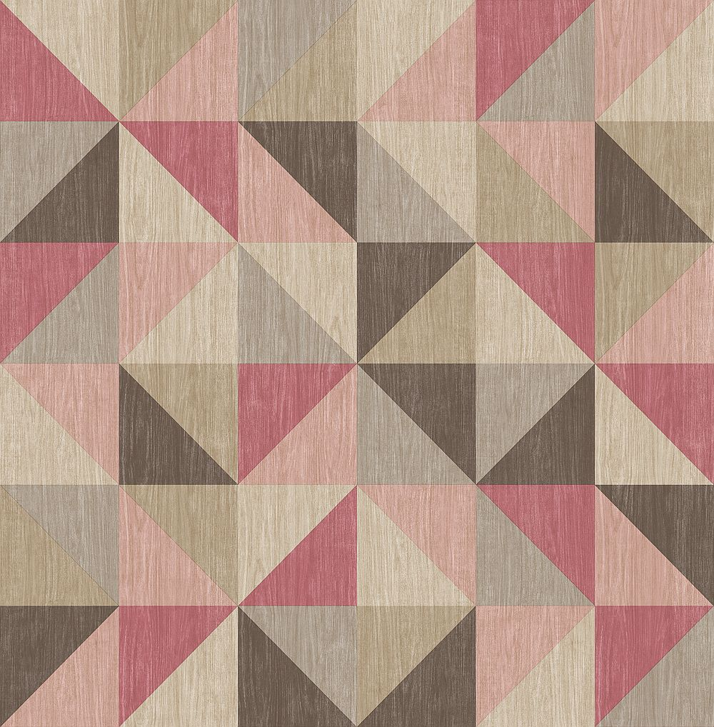 Albany Geometrie Puzzle Pink Wallpaper - Product code: 22622