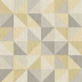 Albany Geometrie Puzzle Citrine Wallpaper - Product code: 22623