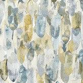 Harlequin Kelambu Graphite / Mustard Wallpaper - Product code: 111663