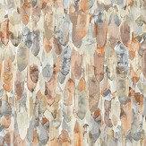 Harlequin Kelambu Amber / Slate Wallpaper - Product code: 111666