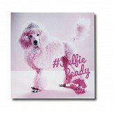 Arthouse Girls Life Selfie Canvas Pink Art