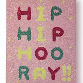 Arthouse Girls Life Hip Hooray Canvas Pink Art