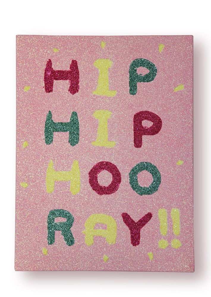 Arthouse Girls Life Hip Hooray Canvas Pink Art - Product code: 004674