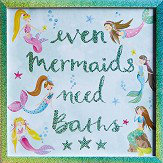 Arthouse Mermaid World Framed Print Multi-coloured Art