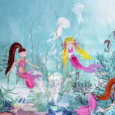 Arthouse Mermaid World Scroll Multi-coloured Art