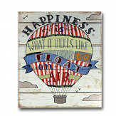 Arthouse Circus Fun Wooden Plaque Multi-coloured Art
